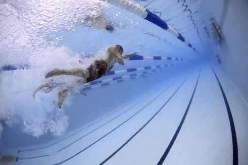 water swimming competition pool